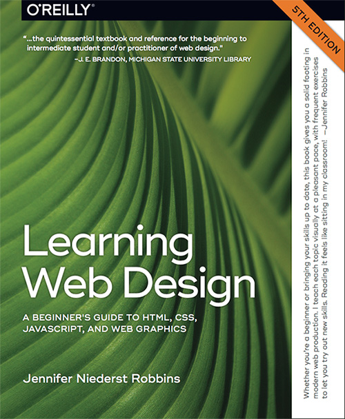Learning Web Design by Jennifer Niederst Robbins